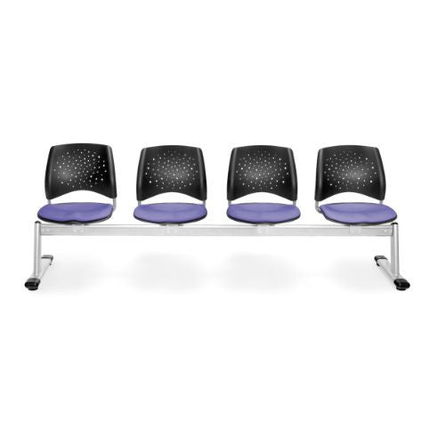 OFM Stars 4-Unit Beam Seating with 4 Seats; UPC:845123007488
