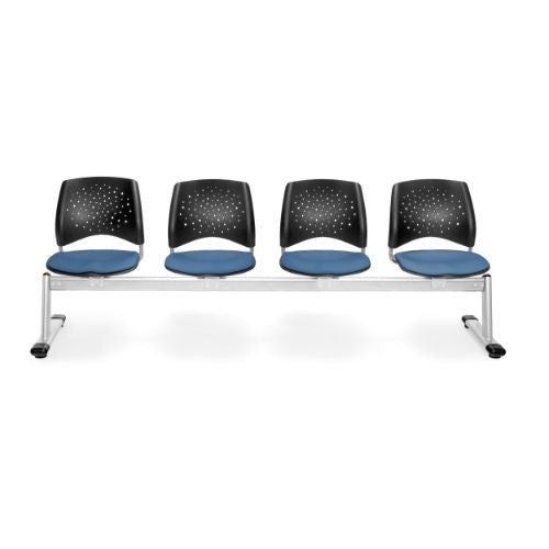 OFM Stars 4-Unit Beam Seating with 4 Seats; UPC:845123007525
