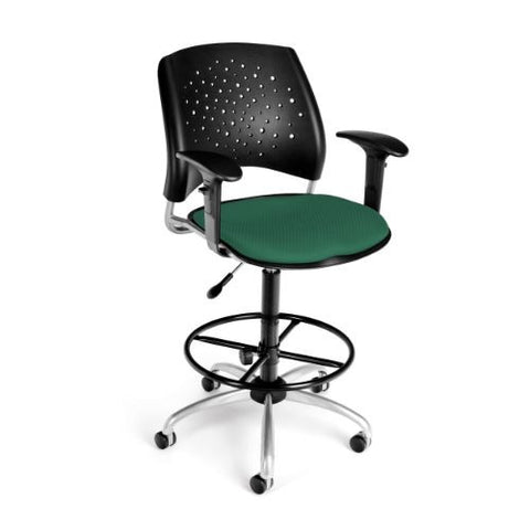 OFM Stars Swivel Stool with Arms ; UPC: 845123013212