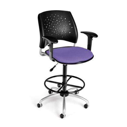OFM Stars Swivel Stool with Arms ; UPC: 845123013229