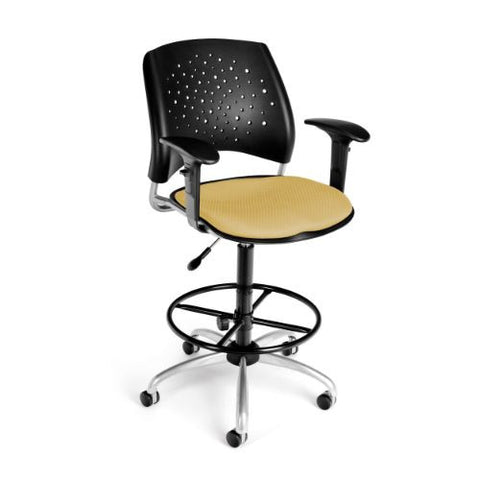 OFM Stars Swivel Stool with Arms ; UPC: 845123013250