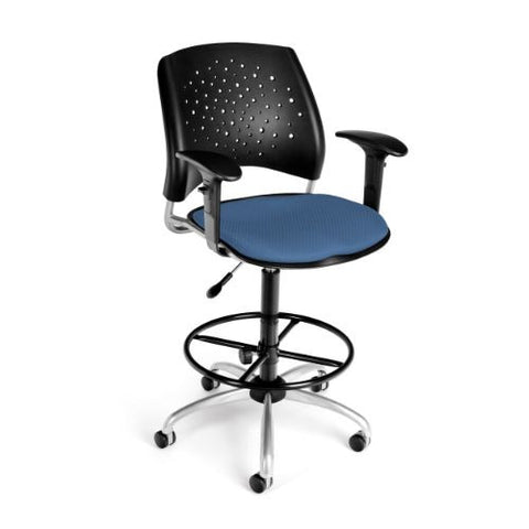 OFM Stars Swivel Stool with Arms ; UPC: 845123013267