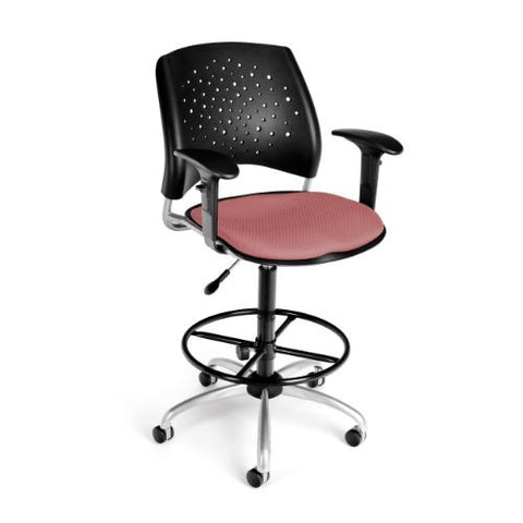 OFM Stars Swivel Stool with Arms ; UPC: 845123013281