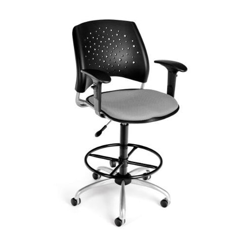 OFM Stars Swivel Stool with Arms ; UPC: 845123013342