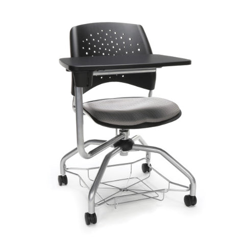 OFM Stars Foresee Tablet Chair w/ Fabric Seat Cushion, Putty  ; UPC: 845123094266