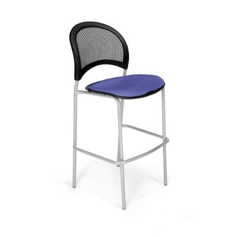 OFM Moon Cafe Height Silver Chair ; UPC: 845123004869