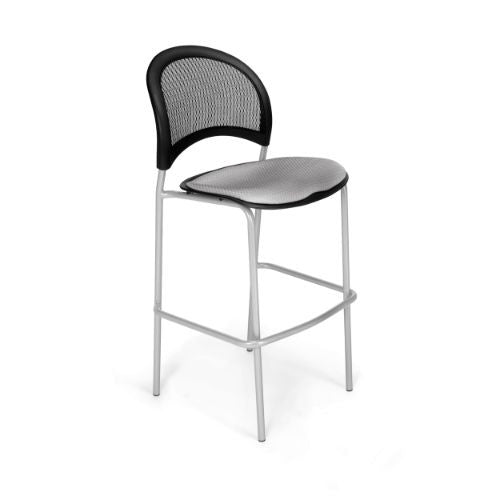 OFM Moon Cafe Height Silver Chair ; UPC: 845123004968