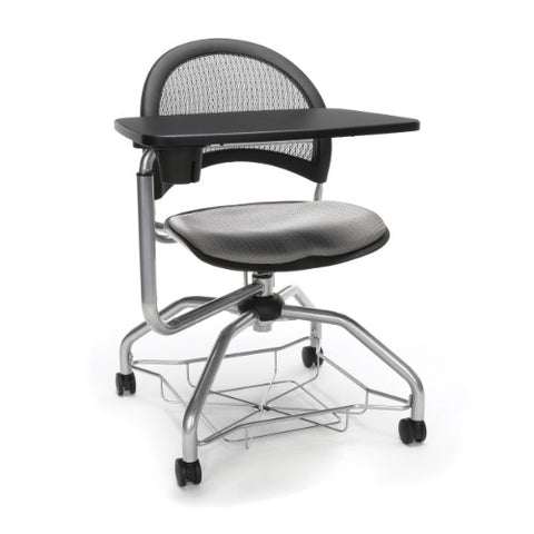 OFM Moon Foresee Tablet Chair w/ Fabric Seat Cushion, Putty  ; UPC: 845123094709