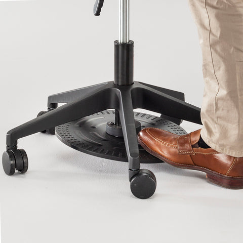 Safco Products Foot Pedal Lab Stool 3437BL(Image 5)