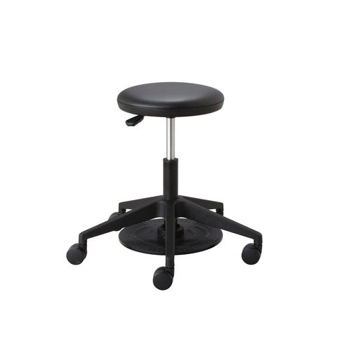 Safco Products Foot Pedal Lab Stool 3437BL(Image 6)