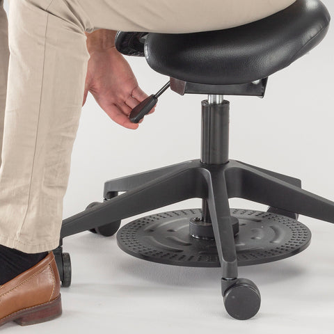 Safco Products Saddle Seat Lab Stool 3438BL Image 5