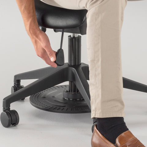 Safco Products Saddle Seat Lab Stool 3438BL Image 7