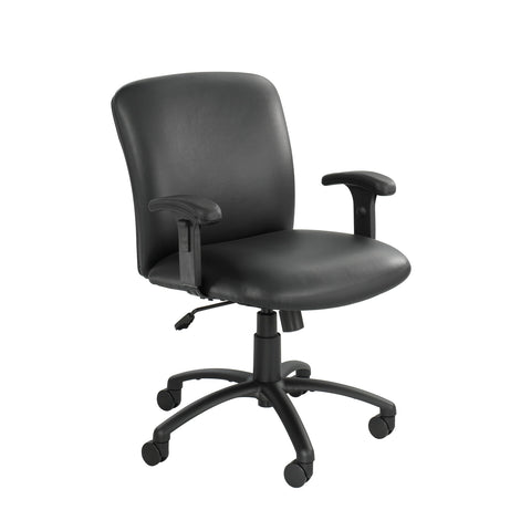 Safco Products Uber Big and Tall Mid Back Chair 3491BV(Image 2)