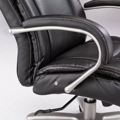 Safco Products Lineage Big & Tall Mid Back Task Chair, 400 lb. Capacity 3503BL(Image 2)