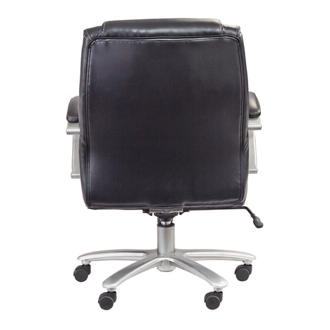 Safco Products Lineage Big & Tall Mid Back Task Chair, 400 lb. Capacity 3503BL(Image 3)