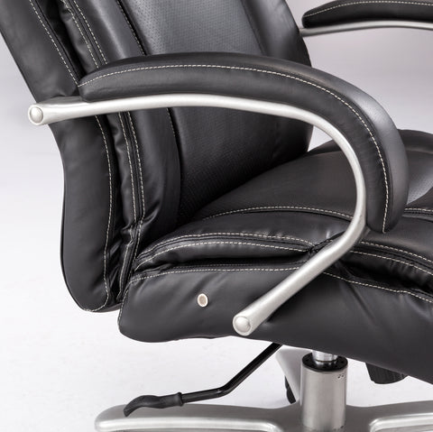 Safco Products Lineage Big & Tall Mid Back Task Chair, 350 lb. Capacity 3504BL(Image 2)