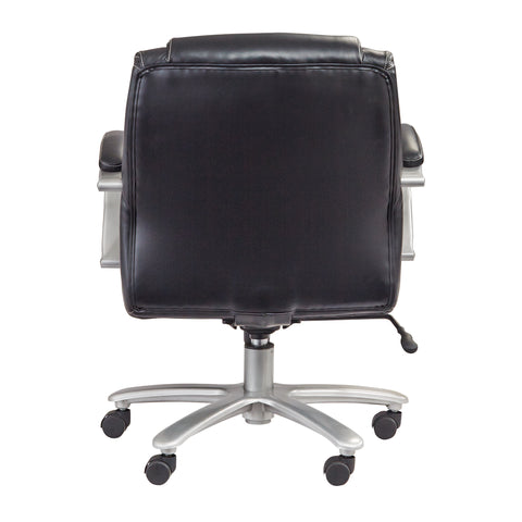 Safco Products Lineage Big & Tall Mid Back Task Chair, 350 lb. Capacity 3504BL(Image 3)