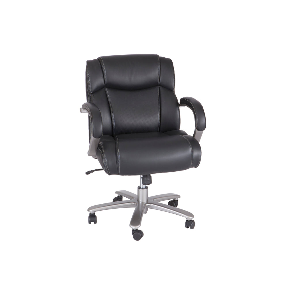 Safco Products Lineage Big & Tall Mid Back Task Chair, 350 lb. Capacity 3504BL(Image 1)
