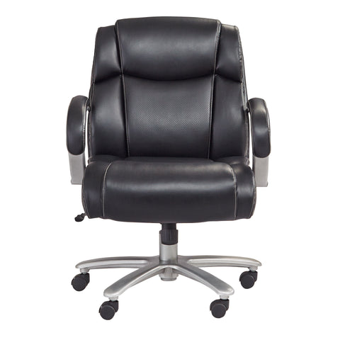Safco Products Lineage Big & Tall Mid Back Task Chair, 350 lb. Capacity 3504BL(Image 5)