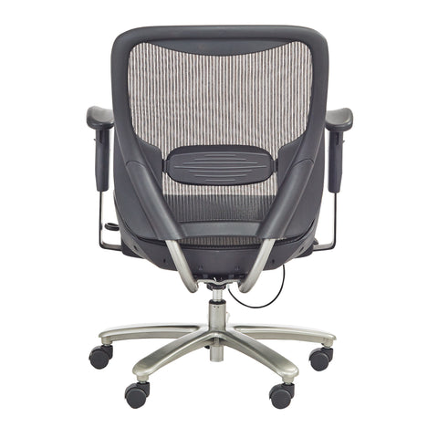 Safco Products Lineage Big & Tall All-Mesh Task Chair, 400 lb. Capacity 3505BL(Image 6)