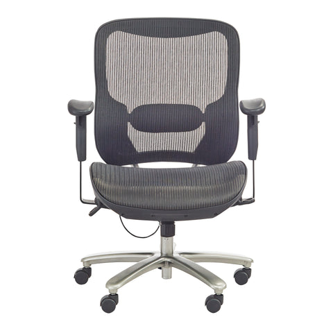 Safco Products Lineage Big & Tall All-Mesh Task Chair, 400 lb. Capacity 3505BL(Image 1)