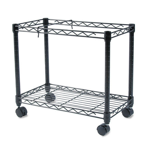 Fellowes High-Capacity Rolling File Cart FEL45081, Black (UPC:077511450815)