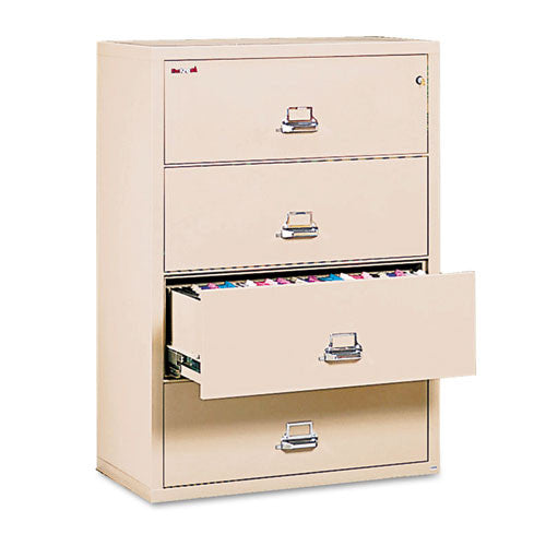 FireKing Insulated Lateral File FIR43822CPA, Tan (UPC:033983015358)