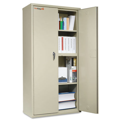 FireKing Insulated Storage Cabinet FIRCF7236D,  (UPC:033983074935)
