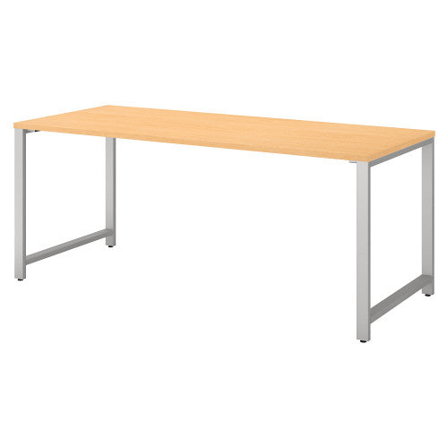 Bush 400 Series 72W X 30D Table Desk, Natural Maple 400S145AC ; UPC: 042976073299 ; Image 1