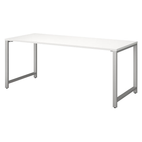 Bush 400 Series 72W X 30D Table Desk, White 400S145WH ; UPC: 042976073336 ; Image 1