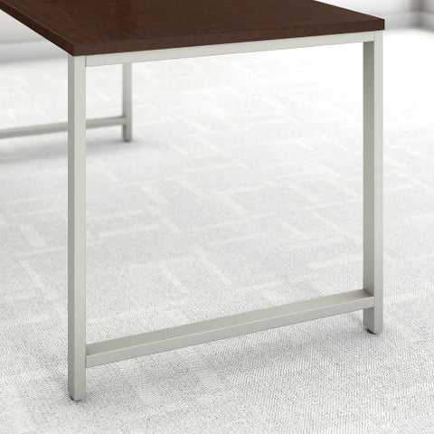Bush 400 Series 48W x 24D Table Desk, Mocha Cherry 400S146MR ; UPC: 042976073374 ; Image 3