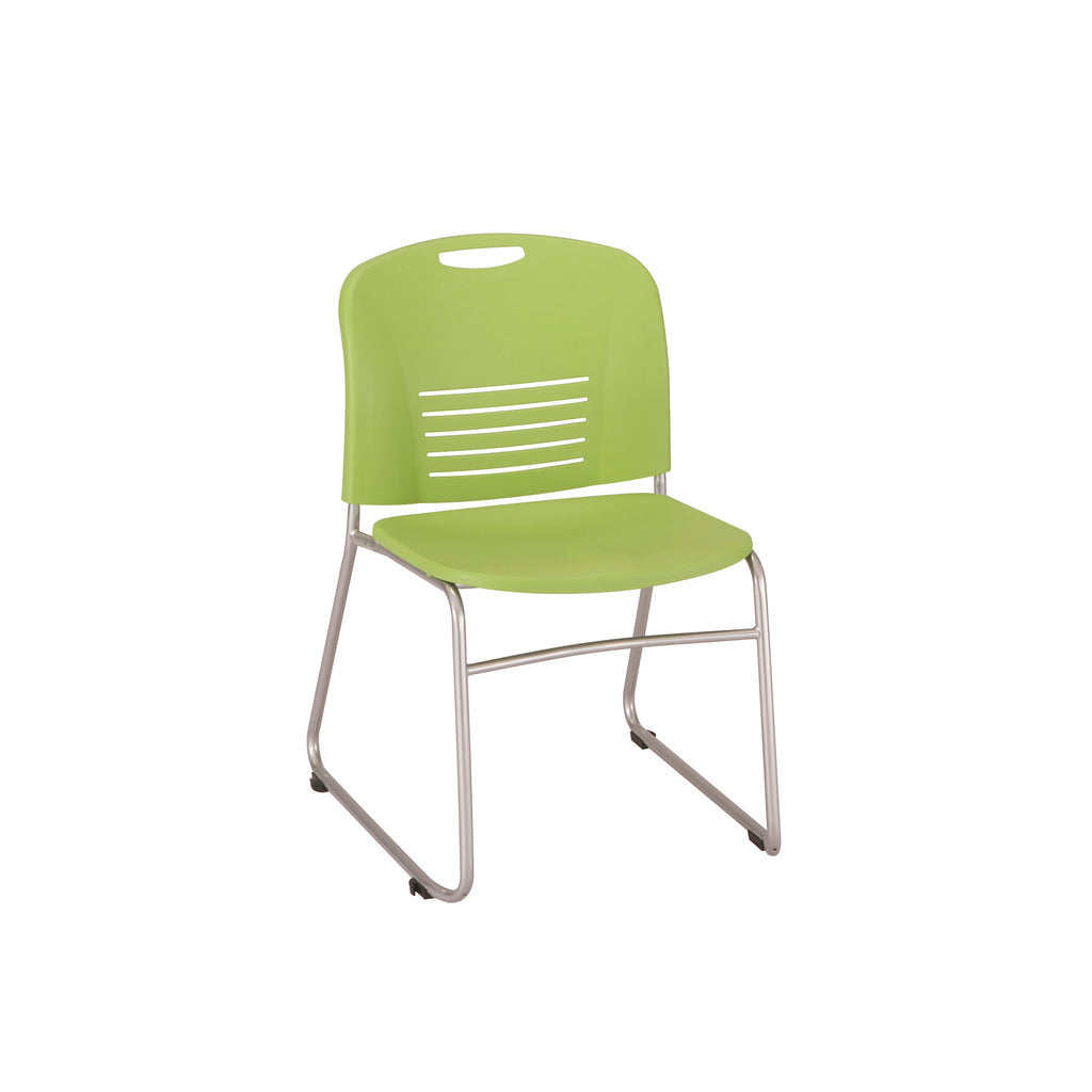 Safco Products Vy™ Sled Base Chair (Qty. 2) 4292GN Image 1