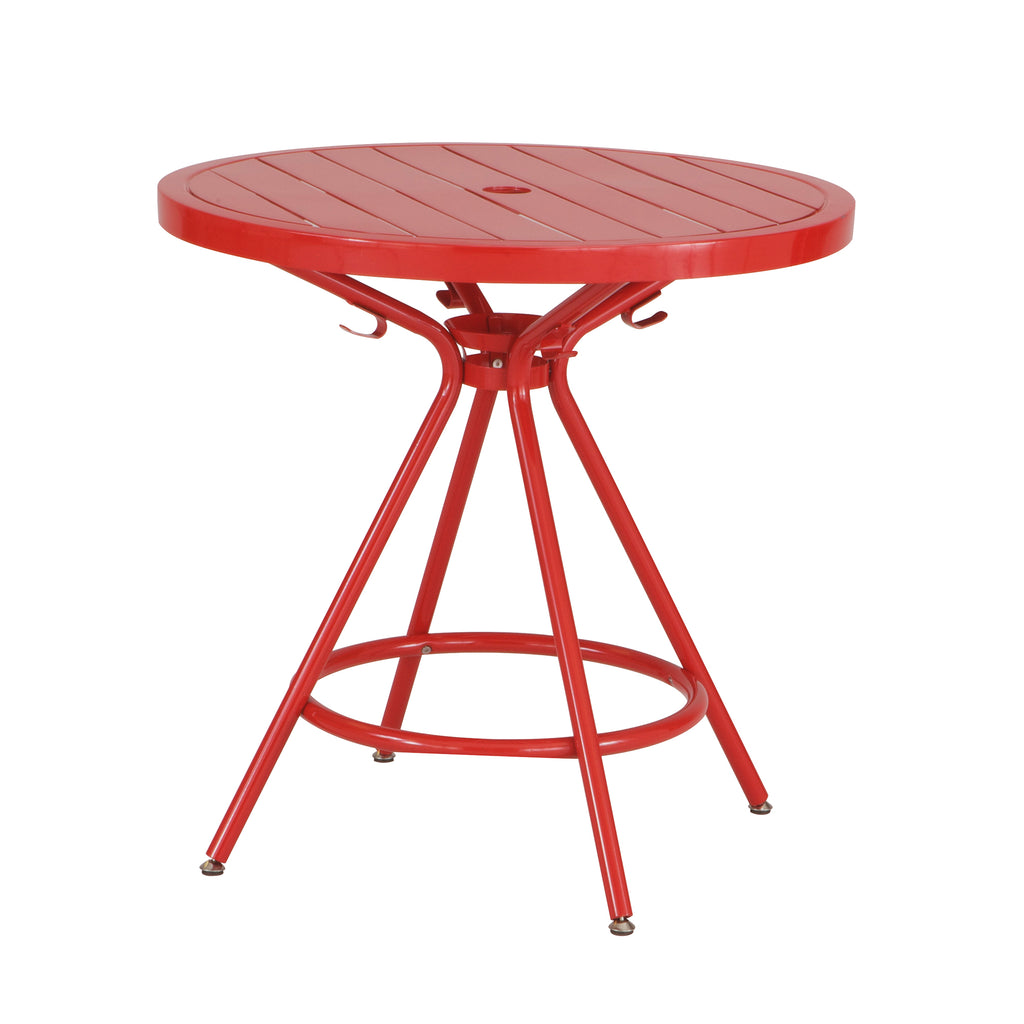 "Safco Products CoGo Steel Outdoor/Indoor Table, Round, 30"" 4361RD(Image 1)"
