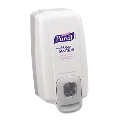 PURELL NXT Hand Sanitizer Dispenser - Manual - 3.38 fl oz Capacity - Dove Gray - 1Each GOJ212006
