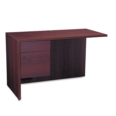 "HON 10500 Series Left Return | 1 Box / 1 File Drawer | 48""W x 24""D x 29-1/2""H 