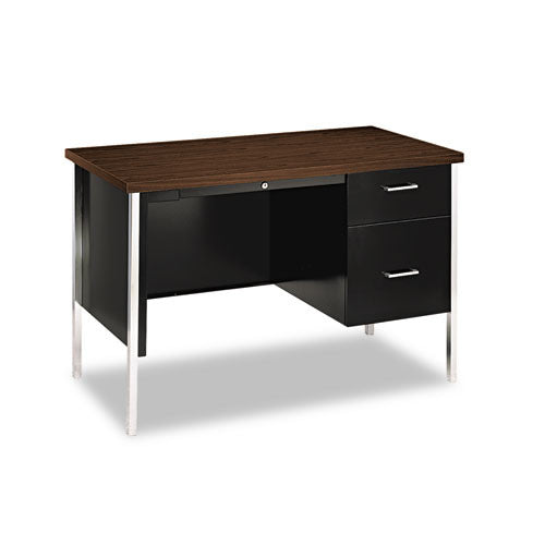 HON 34002R Right Pedestal Desk HON34002RZP, Chrome (UPC:884128147478)