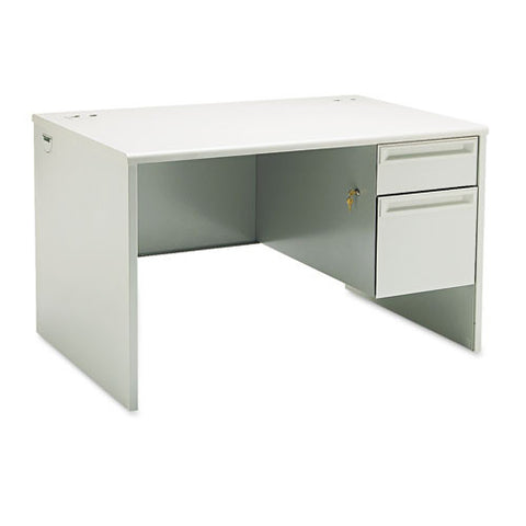 HON 38000 Series Right Pedestal Desk HON38251QQ, Gray (UPC:089192667765)