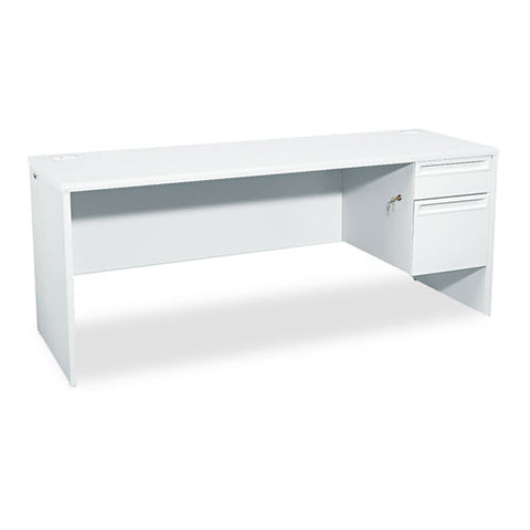 HON 38000 Series Right Pedestal Credenza HON38856RQQ, Gray (UPC:089192683055)
