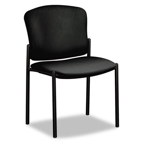 HON Pagoda Series Armless Stacking Chair HON4073EE11T, Black (UPC:745123134729)