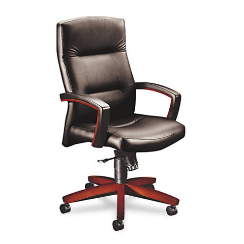 HON Park Avenue Collection 5000 Series High-back Chair HON5001NEE11, Black (UPC:020459565431)