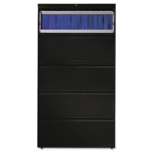 HON 800 Series Lateral File HON885LP, Black (UPC:089192153930)