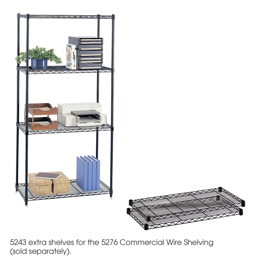 "Safco Products Commercial Extra Shelf Pack, 36 x 18"" 5243BL Image 1"