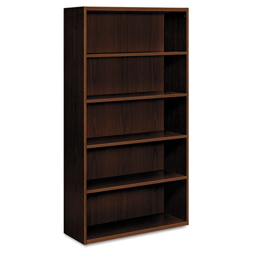 HON Arrive Series Wood Veneer Five-Shelf Bookcase HONVW612XFF,  (UPC:089192240883)