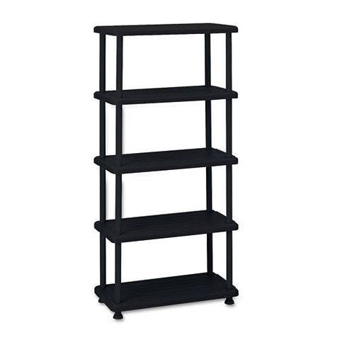 Iceberg Rough 'N Ready 5-Shelf Open Storage System ICE20851, Black (UPC:674785208519)