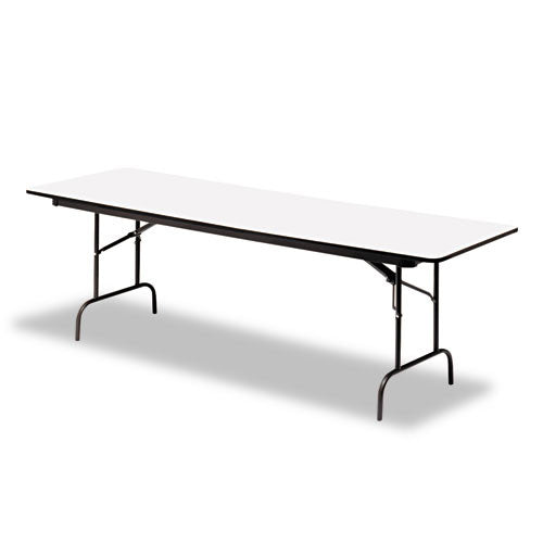 Iceberg Premium Wood Laminate Folding Table ICE55227, Gray (UPC:674785552278)
