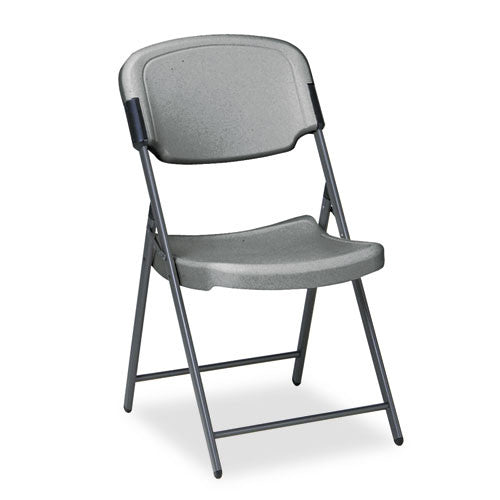 Iceberg Rough 'N Ready Folding Chair ICE64007, Black (UPC:674785640074)