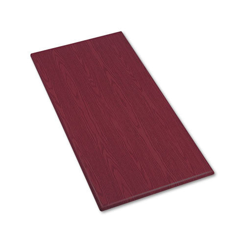 Iceberg OfficeWorks Rectangular Conference Tabletop ICE65028, Mahogany (UPC:674785650288)
