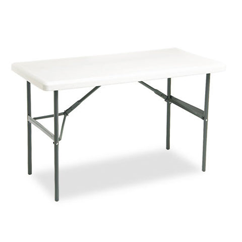 Iceberg IndestrucTable TOO 1200 Series Folding Table ICE65203, Gray (UPC:674785652039)