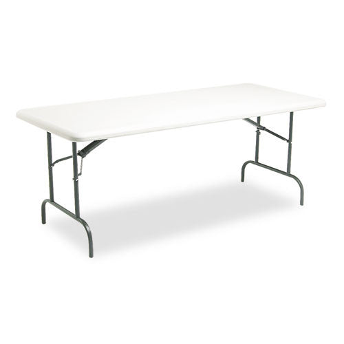 Iceberg IndestrucTable TOO 1200 Series Folding Table ICE65223, Gray (UPC:674785652237)
