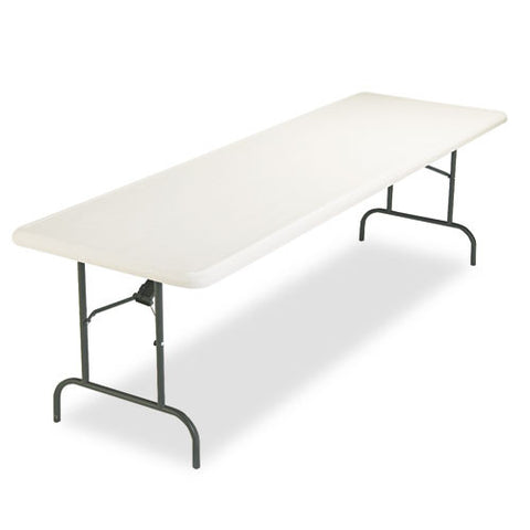 Iceberg IndestrucTable TOO 1200 Series Folding Table ICE65233, Gray (UPC:674785652336)
